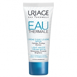 Uriage Water Cream SPF20 Light -Normal to Combination Skins-40ml