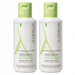 A-Derma Exomega Cleansing Oil - 2 x 500ml