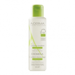 A-Derma Exomega Cleansing Emollient Gel-500ml