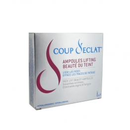 Coup d'Eclat Botanical Instant Lifting Ampoules-7 x 1ml