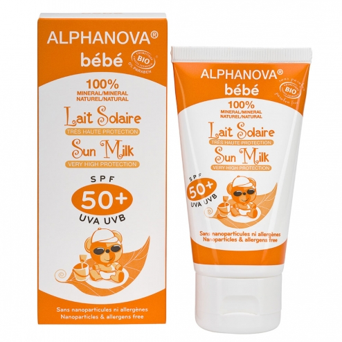 Alphanova Baby Sunscreen Lotion SPF 50 - 50ml