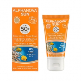 Alphanova Sunscreen Tinted SPF 50-50 Grams