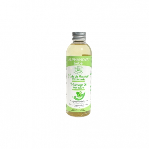 Alphanova Baby 100% Natural Massage Oil-100ml