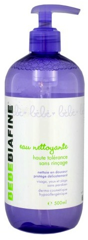 Bebe Biafine No Rinse Cleansing Water - 500ml