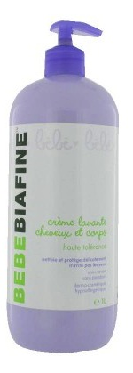 Bebe Biafine Cleansing Cream - 1 litre