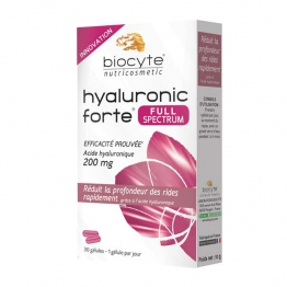 Biocyte Hyaluronic Forte Full Spectrum -200mg-30 Gel Capsules