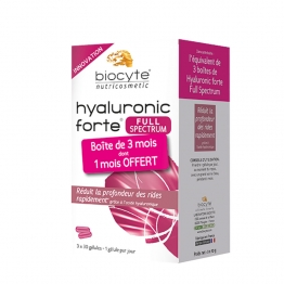 Biocyte Hyaluronic Forte Full Spectrum -200mg-90 Gel Capsules