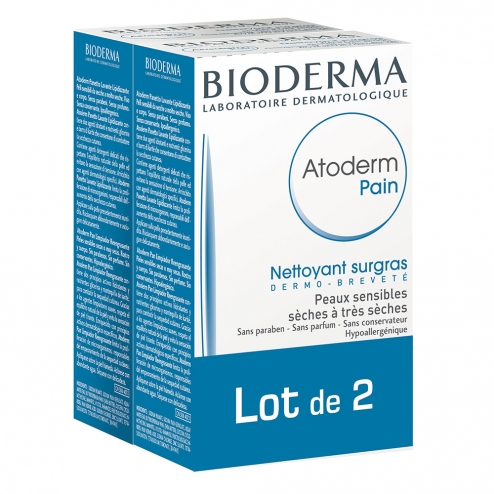 Bioderma Atoderm Oil Rich Soap-2 x 150 grams