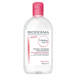 Bioderma Crealine T.S.  H2O Micellar Solution-Scent Free-500ml