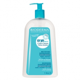 Bioderma ABCDerm Cold Cream Cleansing Cream-1 Litre