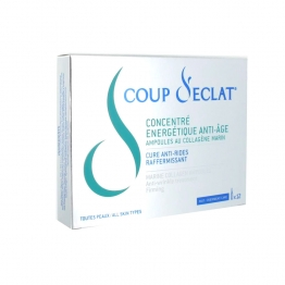 Coup D'Eclat Concentrated Energetic - 12 Vials with Marin Collagen
