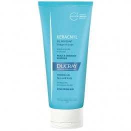 Ducray Keracnyl Foaming Cleaning Gel-200ml