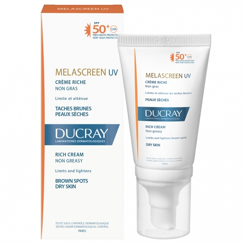 Ducray Melascreen Photoprotection Rich Cream SPF 50-40ml