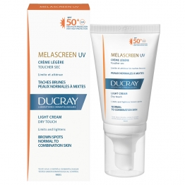 Ducray Melascreen Photoprotection Light Cream SPF 50-40ml