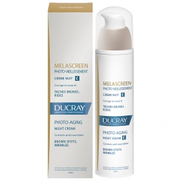 Ducray Melascreen Photo-Aging Night Cream-Brown Spots-30ml