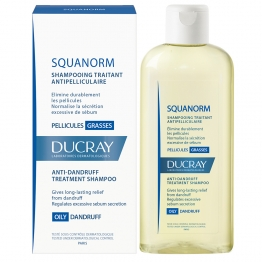 Ducray Squanorm Anti Dandruff Oily -200ml