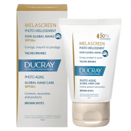 Ducray Melascreen Photo-Aging Global Hand Cream-Brown Spots-50ml