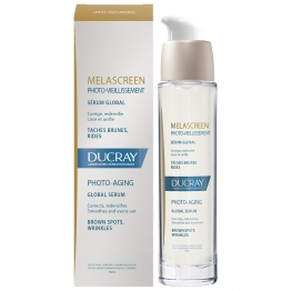 Ducray Melascreen Photo-Aging Global Serum-Brown Spots-30ml