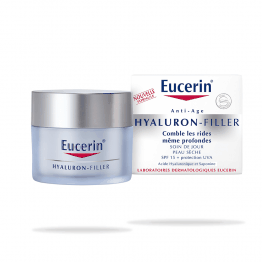 Eucerin Hyaluron Filler-Day-Dry Skins--50ml
