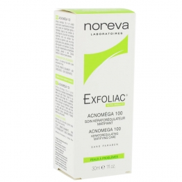 Noreva Exfoliac Acnomega 100-30ml