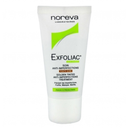 Noreva Exfoliac BB Tinted Anti-Imperfection Care -Dore -30ml