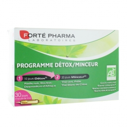 Forte Pharma Detox Slimming Program-30 x 10ml Vials