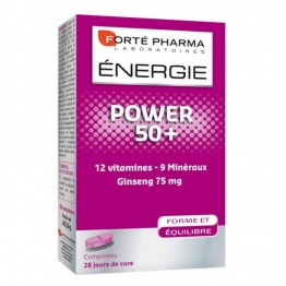 Forte Pharma Energie Power 50+-28 Tablets