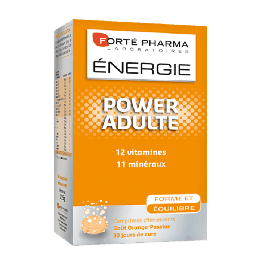 Forte Pharma Energie Power Adult- 30 Effervecent Tablets