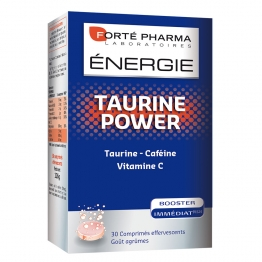 Forte Pharma Energie Taurine Power  - 30 Foaming Tablets