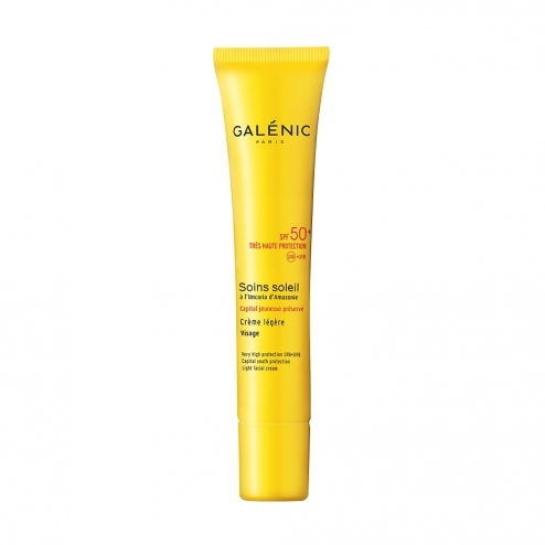 Galenic SPF50 Light Face Suncreen-40ml