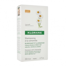 Klorane Golden Highlights Shampoo with Camomille-200ml