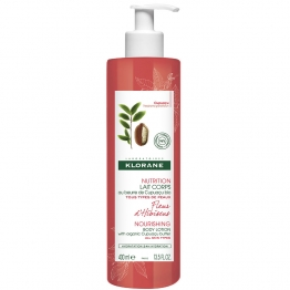 Klorane Body Lotion with Hibuscus Flower -400ml