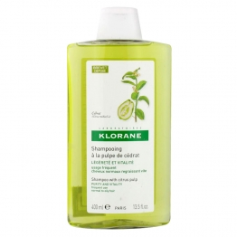 Klorane Shampoo with Citron Pulp-400ml