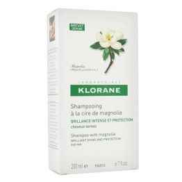 Klorane Shampoo with Magnolia Wax-200ml