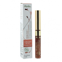Melvita 2 in 1 Lip Gloss D'Or-4ml