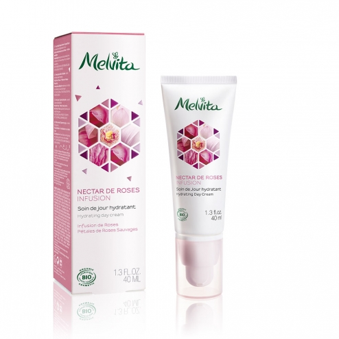 Melvita Nectar de Roses Infusion Hydrating Day Care -40ml