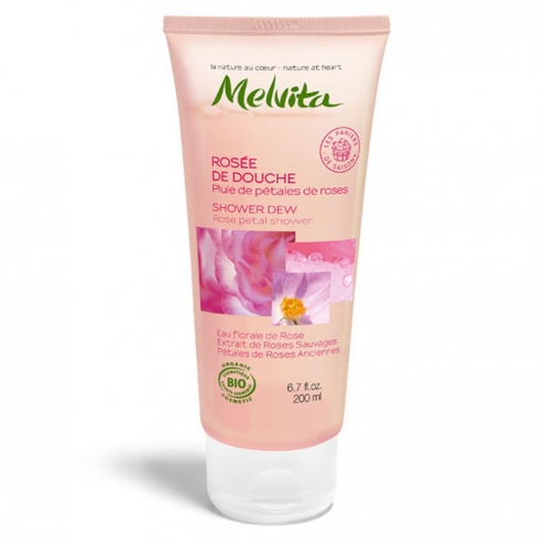 Melvita Shower Dew Rose Petal Shower-200ml