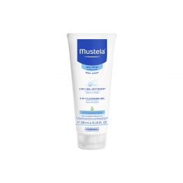Mustela 2 in 1 Hair and Body  Cleansing Gel-200ml