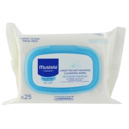 Mustela Cleansing Wipes -25 Wipes
