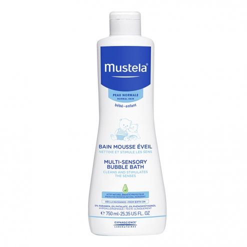 Mustela Multi-Sensory Bubble Bath -750ml