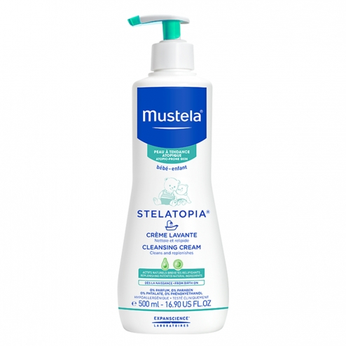 Mustela Stelatopia Cleansing Cream-500ml