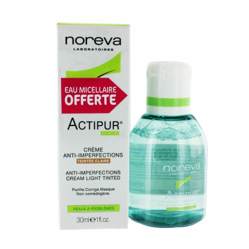 Noreva LED Actipur Anti-Imperfection Tinted Cream- Claire-30ml