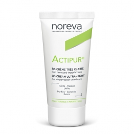Noreva Actipur BB Anti-Imperfection Tinted Cream- Ultra Light-30ml