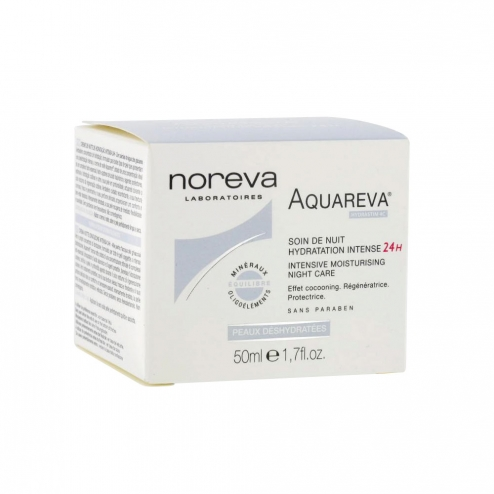 Noreva Aquareva 24H Hydrating Night Cream -50ml