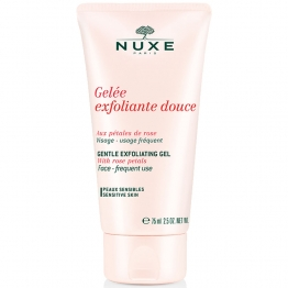 Nuxe Gentle Exfoliating Gel with Rose Petals-75ml