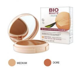 Bio Beaute by Nuxe  BB Silky Perfecting Cream Compact SPF20-Gold-9 Grams
