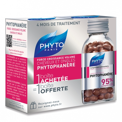 Phytophanere Hair & Nails - 2  x 120 caplets