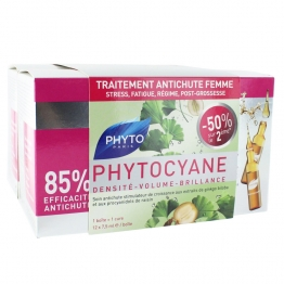 Phytocyane Anti Hair Loss Re-Densifying-2 x 12 x7.5ml