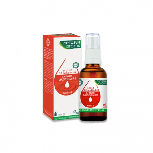 Photosun Kine 6- Massage Oil - Muscular Effort -50ml
