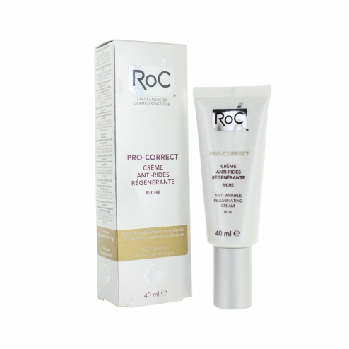 Roc Pro-Correct Anti-Wrinkle Rich Cream-40ml